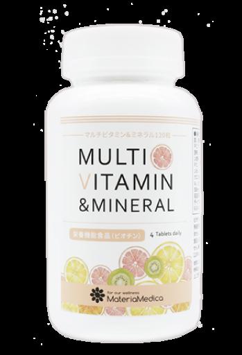 マルチビタミン&ミネラルのイメージ